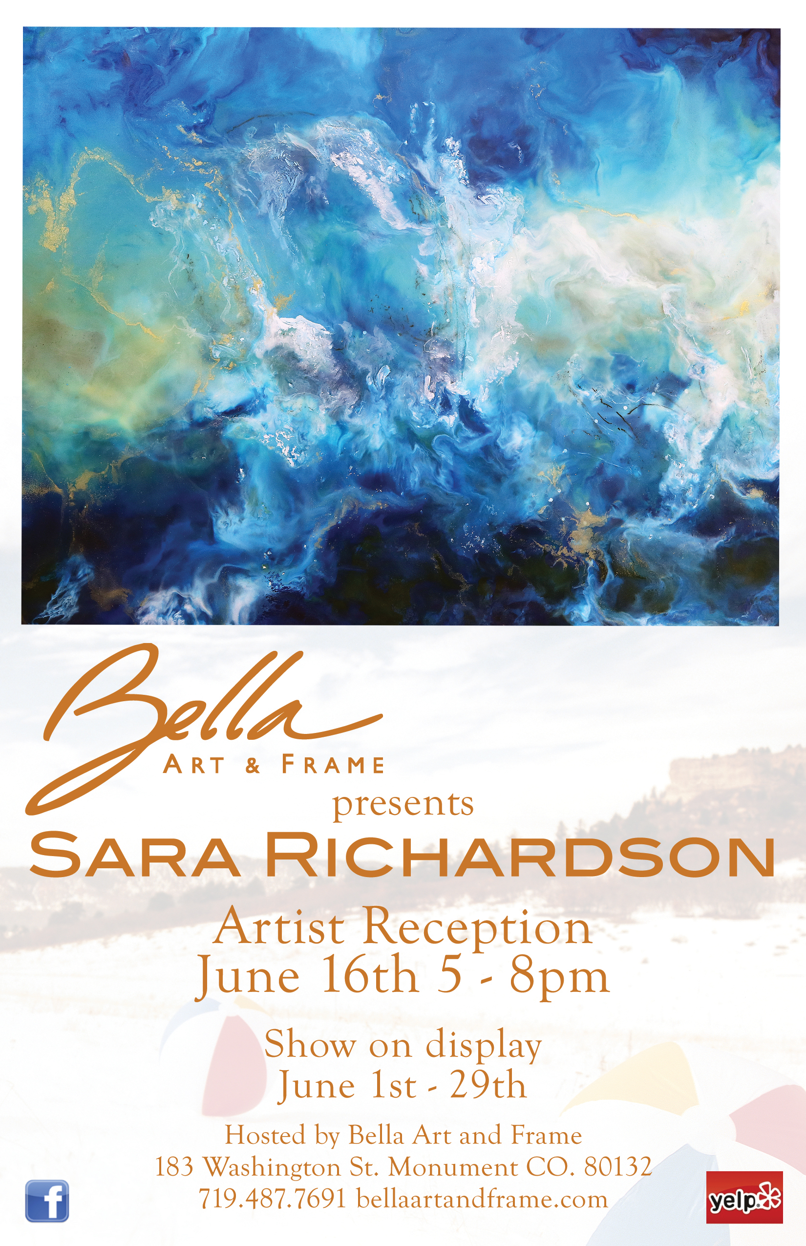 Event Sara Richardson Colorado Art Hop