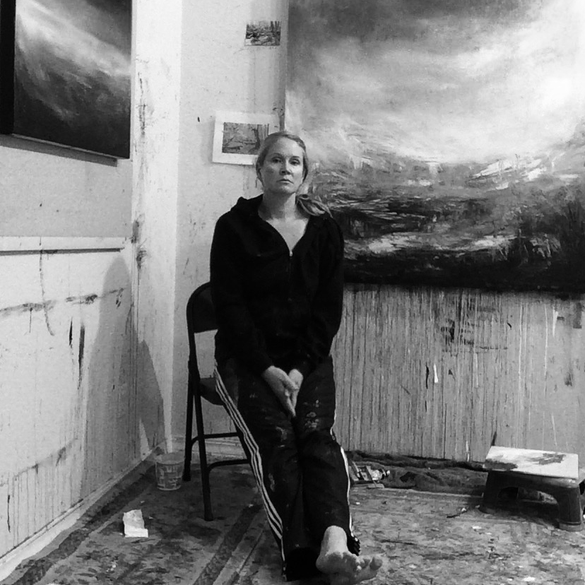 Sara Richardson fine artist studio biography photo