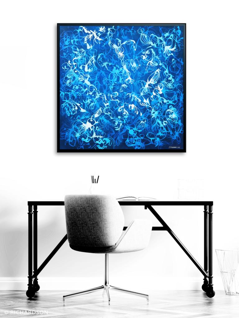 Orignial artwork by contemporary fine artist Sara C Richardson