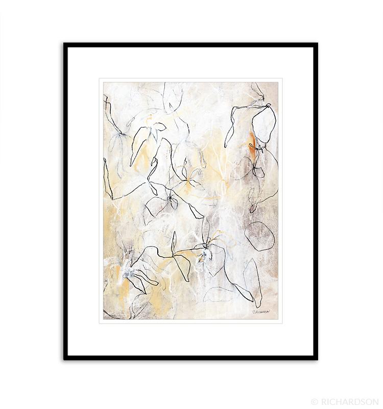 Drawing Wild Flowers No.10 artist Sara Richardson
