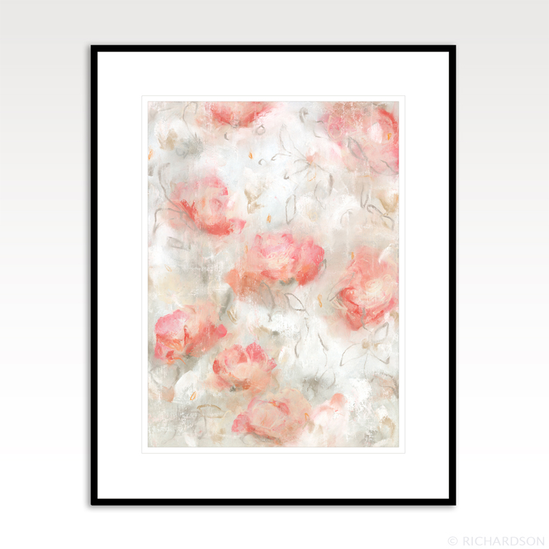 Contemporary abstract drawing and art by fine artist Sara Richardson
