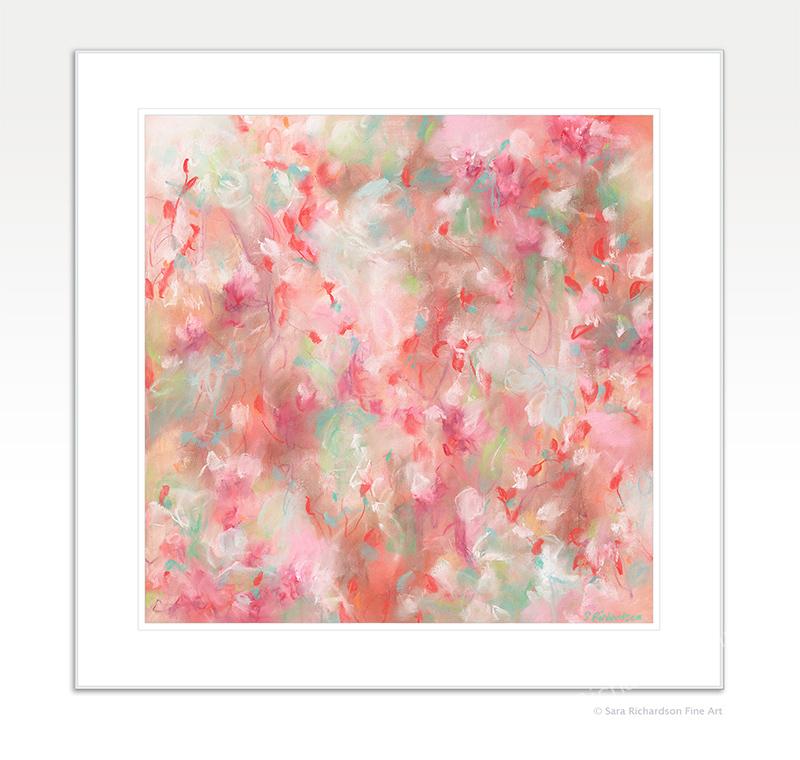 Contemporary Artwork Watermelon Pop Rocks Sara Richardson Artist